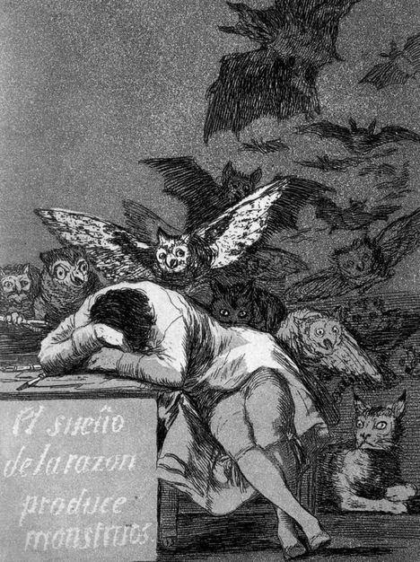 'Los caprichos', de Goya, en el Palacio del Infante Don Luis hasta diciembre