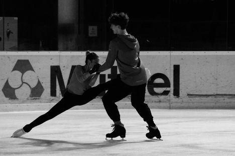 La patinadora de Torrelodones Sofía Val se muda a Lyon y se pasa a la danza