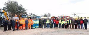 Más de 5.000 personas y 600 vehículos, dispuestos para combatir las inclemencias invernales