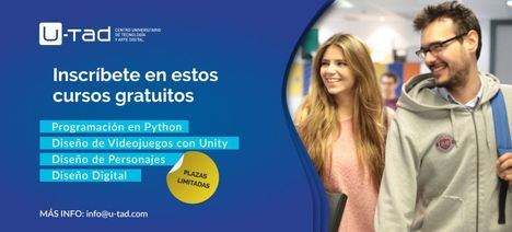 La U-Tad ofrece cuatro talleres gratuitos en Las Rozas durante noviembre