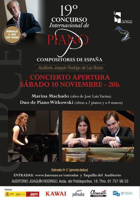 El Concurso Internacional de Piano llega a su XIX edición