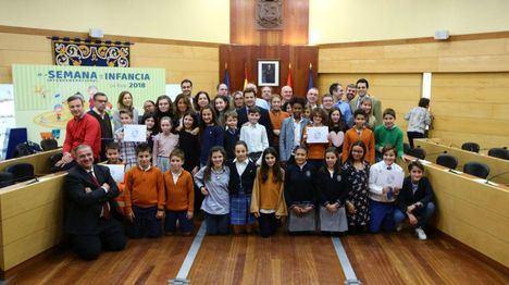 Los escolares de Las Rozas aprueban en el Pleno Infantil sus propuestas para mejorar el municipio