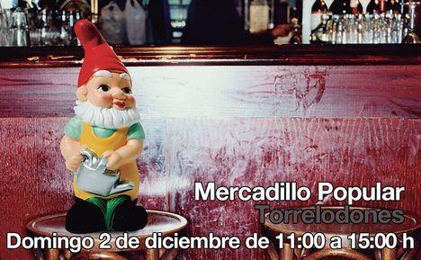 El Mercadillo Popular de Prado Grande se viste de Navidad
