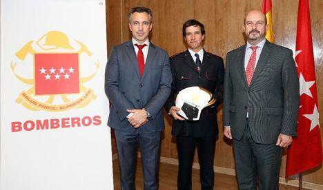 Un nuevo jefe para el Cuerpo de Bomberos de la Comunidad de Madrid