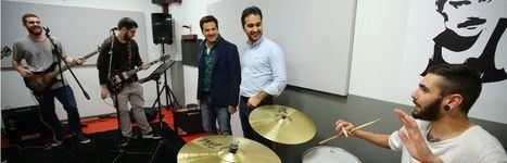 Cuatro salas de ensayo y un estudio de grabación para los músicos roceños