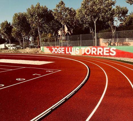 José Luis Torres inaugurará la pista de atletismo que lleva su nombre