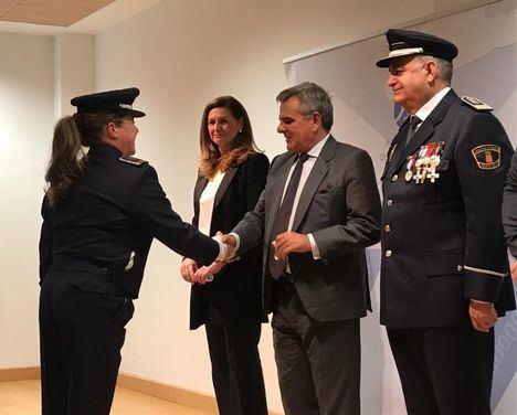 Homenaje a los agentes de Policía Local
