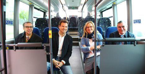 Rosalía Gonzalo anuncia mejoras en las líneas de autobuses urbanos e interurbanos