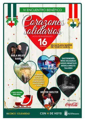 Música, rifas y actividades infantiles en el IV Encuentro de Corazones Solidarios