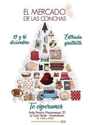 Navidad en el Mercado de las Conchas