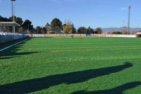 Nuevo césped artificial para todos los campos de fútbol