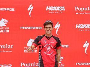 Sergio Octavio: la perseverancia del mejor triatleta roceño