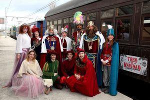 Otra forma de disfrutar de la Navidad: a bordo de un tren histórico