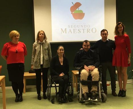 Segundo Maestro, por la plena inclusión de menores discapacitados