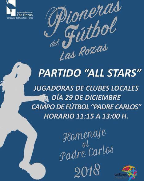 Homenaje al Padre Carlos Juárez como pionero del fútbol femenino