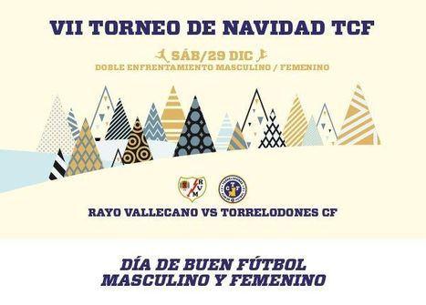 El Rayo Vallecano viene a Torrelodones por Navidad