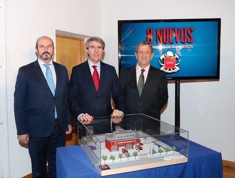 Firmado el convenio para la construcción del primer parque de Bomberos de Villanueva de la Cañada