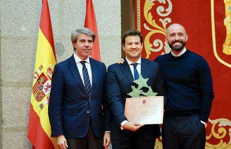Las Rozas recoge el Premio Siete Estrellas del Deporte de la Comunidad de Madrid