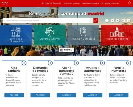 En unos días se pondrán a la venta los primeros dominios .madrid