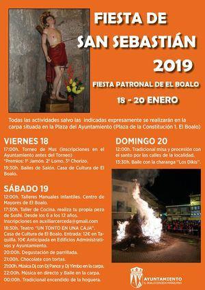 Fin de semana festivo en El Boalo en honor a San Sebastián
