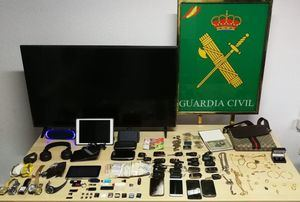 La Guardia Civil detiene a un individuo por participar en más de 20 de robos