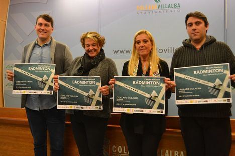 Los mejores jugadores nacionales de bádminton, en Collado Villalba