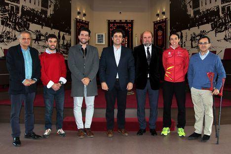 Acuerdo para que la selección de ciclismo adaptado entrene en el Velódromo