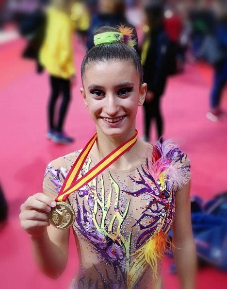 Marina Sierra: una campeona de gimnasia rítmica 'Made in Torrelodones'