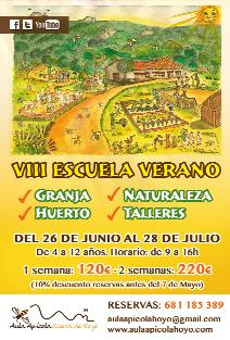 Escuela de naturalistas en el Aula Apícola de Hoyo