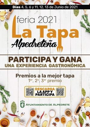 Alpedrete celebra, durante los dos primeros fines de semana de junio, la Feria de la Tapa Alpedreteña