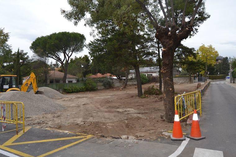 Nuevo aparcamiento público en el centro de Torrelodones