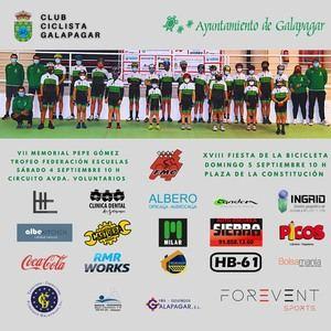 Vuelven a Galapagar la Fiesta de la Bicicleta y el Trofeo Ciclista Escuelas