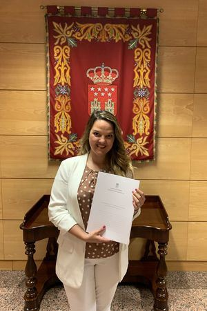Carla Greciano, portavoz del PP de Galapagar
