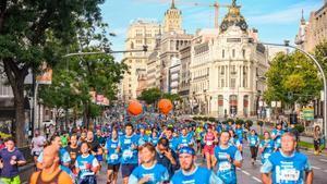 La carrera solidaria 'Madrid corre por Madrid' regresa este domingo, 12 de septiembre