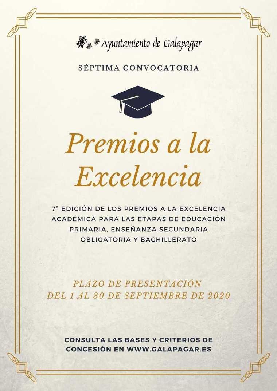 Convocada en Galapagar la séptima edición de los Premios a la Excelencia Académica en Primaria, ESO y Bachillerato