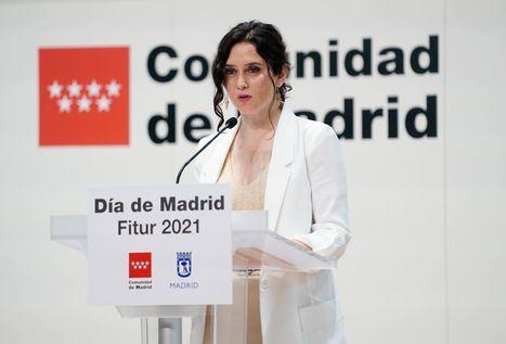 """Díaz Ayuso en FITUR: """"Madrid está preparada para recibir a los que quieran venir a conocernos"""""""