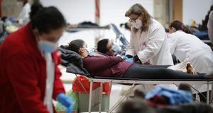 La Comunidad vuelve a habilitar la Real Casa de Correos como centro de donación de sangre para aumentar las reservas