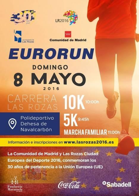 Las Rozas este domingo acoge la Carrera EURORUN