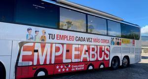 La Comunidad de Madrid pone en marcha un nuevo Empleabus para la zona Noroeste y Sureste