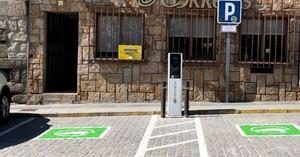 El Escorial estrena dos puntos de recarga gratuita para vehículos eléctricos