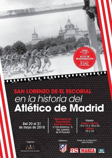 Las leyendas del Atlético de Madrid en San Lorenzo de El Escorial