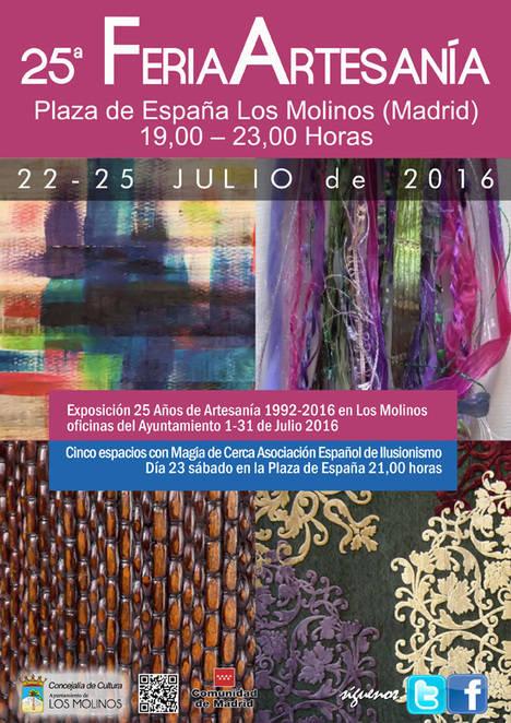 Artesanía y magia este verano en Los Molinos