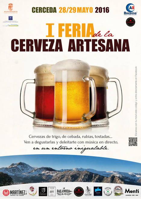 La mejor cerveza artesana, en Cerceda este fin de semana