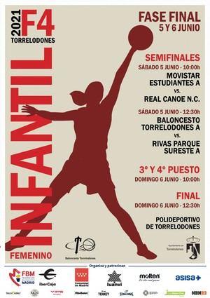 Este fin de semana, el Infantil A femenino de Baloncesto Torrelodones disputa la Final Four