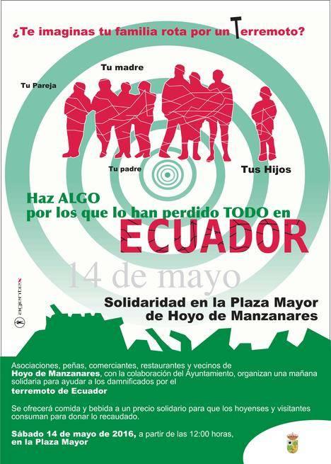 Hoyo se solidariza con Ecuador