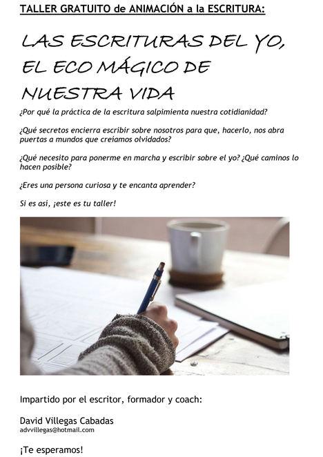 La Biblioteca Ricardo León de Galapagar organiza un taller online de animación a la escritura