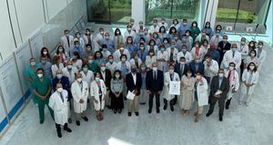 El Hospital Puerta de Hierro primer centro público español en obtener el Sello de calidad EFQM 600