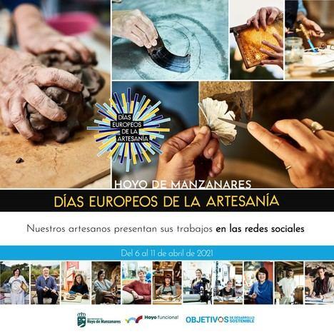 Hoyo de Manzanares se suma a los Días Europeos de la Artesanía 2021