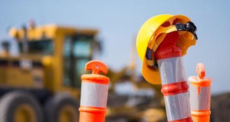 Esta semana finalizarán las obras de mejora del firme de la carretera M-614 en Guadarrama y Los Molinos