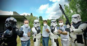 Las Rozas se alía con la Legión 501 de Star Wars para lanzar una campaña de concienciación sobre el autismo
